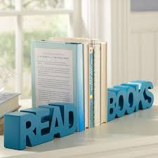 Engraved Bookends Read Books
