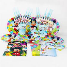 mickey mouse theme baby birthday decorations evnent