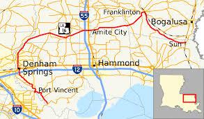 La Traffic Map Louisiana Highway 16 Wikipedia