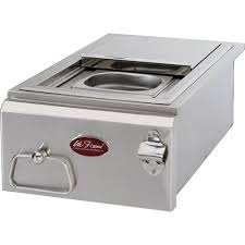 Built In Bbq Bull 5 Burner Built In Propane Gas Grill In Stainless Steel 54658