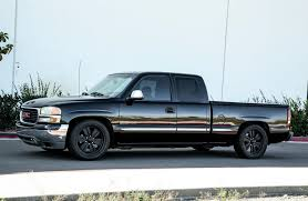lowered trucks adding performance to an already lowered 2002 gmc sierra 1500