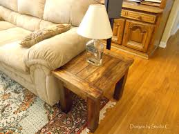 How To Build An End Table How To Make A Coffee Table Home Design Ideas How To Build An End