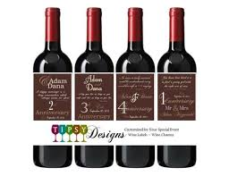 anniversary wine bottles wine bottle labels bottle labels and wine bottles on