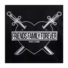 intruz family forever jacket black hedonskate