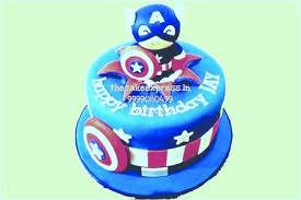 captain america cakes captain america birthday cakes for kids birthday in noida kids