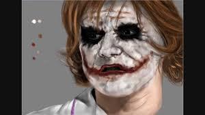 nurse joker speedpainting by giova94 youtube
