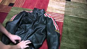 armored leather motorcycle jacket spidi leather motorcycle jacket review with armor youtube