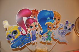 shimmer and shine cake topper 28 images shimmer and shine