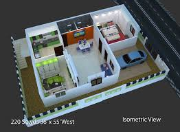 house plans 3d view free north face house plan house and home