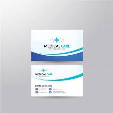 Medical Business Card Design Business Card With Medical Design Vector Premium Download