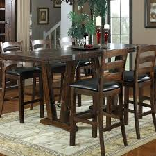 Dining Room Pub Sets Counter Height Dining Set Black Amaretto Pub Style Room Chairs At