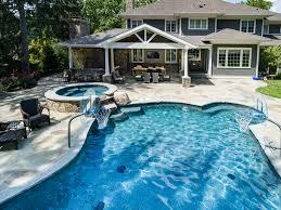 new providence nj custom inground swimming pool design