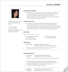 Google Docs Resume Builder Resume Examples The Best Resume Template Basic Free Professional