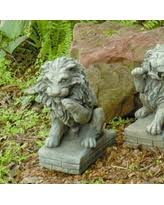 lion statues for sale fall into savings on outdoor lion statues