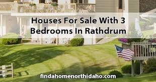 for sale with 3 bedrooms in rathdrum id