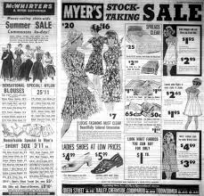 Myer Basement Dresses High Street Histories The Fashion Archives