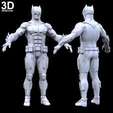 3d printable model batman justice league tactical batsuit armor