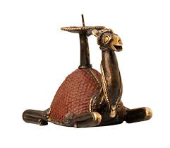 wholesale dhokra metal 5 5 u201d camel figurine with candle holder