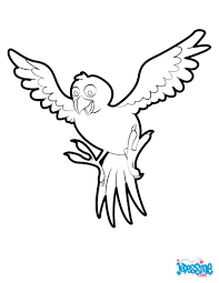 tropical bird coloring pages hellokids com