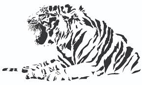 free tiger designs tribal tiger photo stitch free embroidery