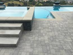 pool patio pavers ocean pavers pool deck pavers installation orange county