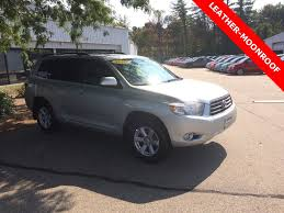 used lexus suv new hampshire used 2010 toyota highlander for sale nh used car dealer new