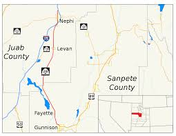 Utah State Map Utah State Route 28 Wikipedia