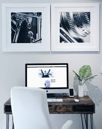 Black And White Wall Decor by Lik Squared Wall Decor For Office Space Live Love Wear It