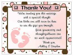 Baby Verses For Baby Shower - simple thank you quotes for baby shower gift verses willard