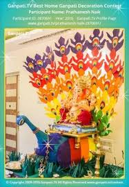 Home Ganpati Decoration Ganpati Decoration Dream Home Pooja Room Pinterest