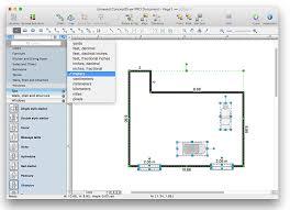 Floor Plan Objects Draw Floor Plans Mac Home Design Inspiration