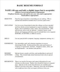 resume template skills resumes templates microsoft word education