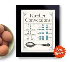 tableau de conversion pour la cuisine tableau de conversion pour cuisine print vintage cuisine