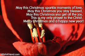 may this christmas sparkle moments of christmas card message