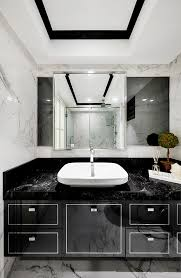 black bathrooms 7 sophisticated mostly black bathrooms home decor singapore