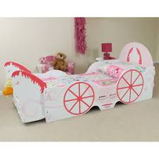carriage bed for girls kidsaw hcjb princess carriage junior bed with horse furnituresos