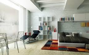 une chambre une chambre à coucher moderne et colorée