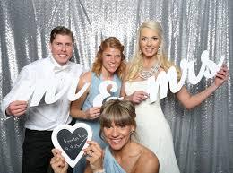 photo booths for weddings custom laser cut props for wedding photo booth silver sequin