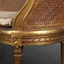 canap louis xvi caned canape with arched back louis xvi style expertissim