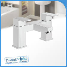 modern lanza chrome bathroom taps sink basin mixer bath filler