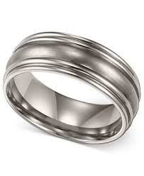 titanium wedding ring men s titanium ring comfort fit wedding band 7mm rings