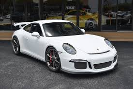 2014 gt3 porsche 2014 used porsche 911 2dr coupe gt3 at the garage inc serving
