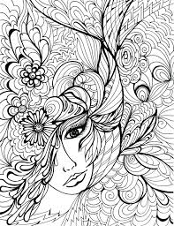 scary clown face coloring pages great blank page for download with