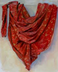 Fabric Drapes Drapery Folds Loosen Up