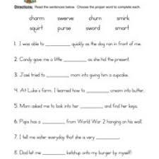 r controlled vowels worksheet 1