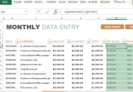 Excel Sales Report Template Monthly Sales Report And Forecast Template For Excel