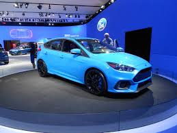 nissan blue paint code blue 2 ford focus rs brightens up its paint for production by car