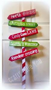 Christmas Outdoor Decorations Signs by The North Pole Sign Christmas Outdoor Sign Wood By Thepurplegoat