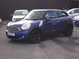 used mini paceman for sale rac cars