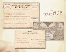 telegram wedding invitation ticket wedding suite by abandig on deviantart wedding
